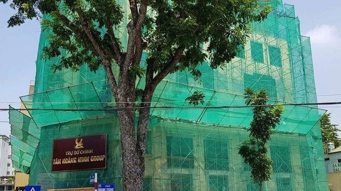 VIID đã chuyển nhượng STD Tower cho Tân Hoàng Minh? (Ảnh: V.H)