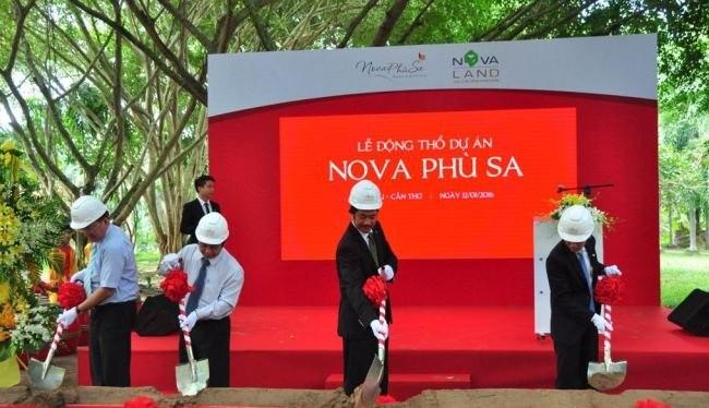 Lễ khởi công dự án Serai Nova Phù Sa Resort. (Ảnh: Internet)