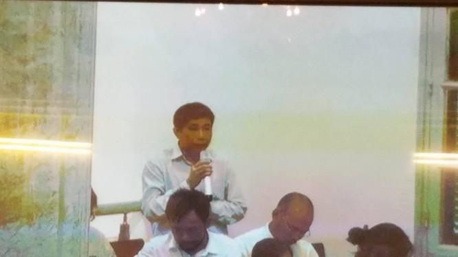 Ông Ninh Văn Quỳnh một mực phủ nhận thông tin mà Nguyễn Xuân Sơn đã khai. (Ảnh: X.T)