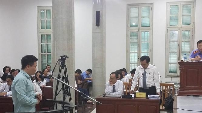 Hà Văn Thắm trong một trao đổi với Luật sư chiều 6/9. (Ảnh: N.G)
