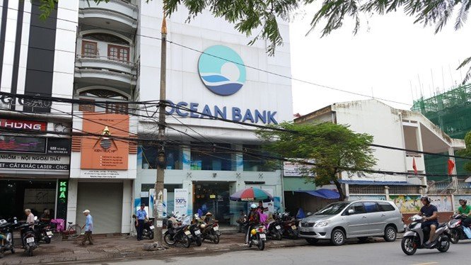Lãnh đạo OceanBank chi nhánh Hải Phòng đã vắng mặt nhiều ngày tại nhiệm sở. (Ảnh: Lê Tân/TNO)
