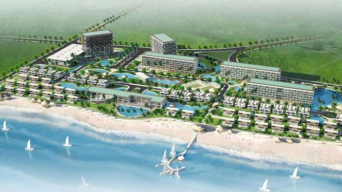 DRH chính thức buông Dự án khu du lịch nghỉ dưỡng tại xã Lộc An, huyện Đất Đỏ, tỉnh Bà Rịa – Vũng Tàu. (Ảnh: DRH)