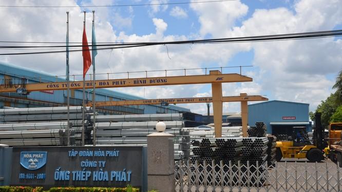 Thép xây dựng và ống thép tiếp tục là các sản phẩm đóng góp chính vào kết quả kinh doanh của Hòa Phát. (Ảnh: HPG)