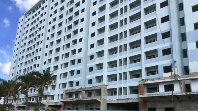 Dự án 584 Tân Kiên được thế chấp cho khoản vay của NTB tại BIDV. (Ảnh: Internet)