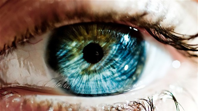 Nhận diện thông qua tròng mắt đã trở lại vị trí hàng đầu của sinh trắc học. (Ảnh: Internet)