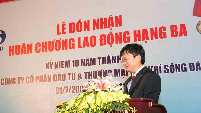 Lịch sử hình thành và phát triển của PVSD in đậm dấu ấn của ông Đinh Mạnh Thắng – em trai ông Đinh La Thăng, một người cũng trưởng thành từ Sông Đà. (Ảnh: MPS)