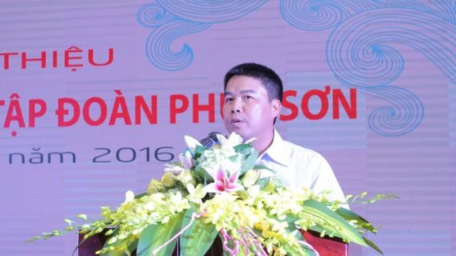 Tổng Giám đốc Nguyễn Văn Hậu của Tập đoàn Phúc Sơn. (Ảnh: PSG)