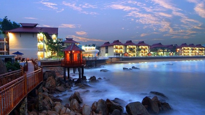 Khu nghỉ dưỡng Hoàng Gia Quy Nhơn - Ảnh: Internet