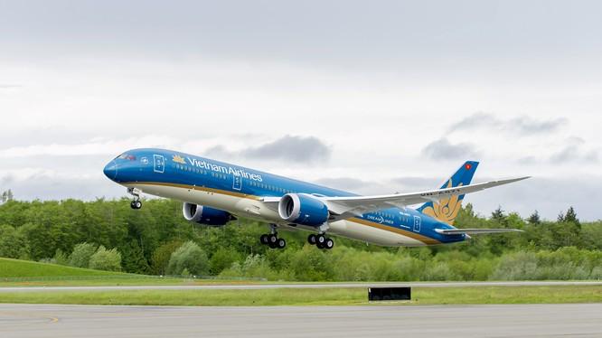 Vietnam Airlines báo lãi kỷ lục 2.800 tỷ đồng, giữ 60% thị phần nội địa. (Ảnh: VNA)