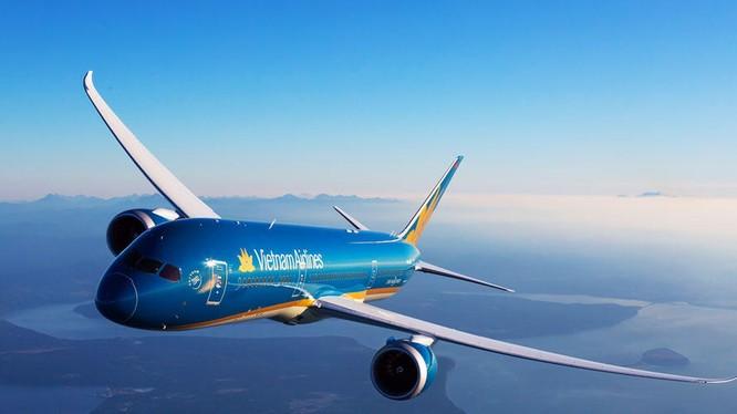 Cổ phiếu HVN của Vietnam Airlines đang bay cao. (Ảnh: VNA)