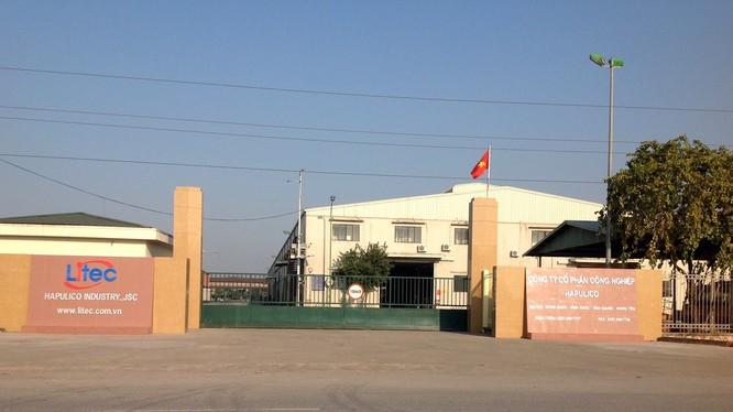 Nhà máy sản xuất chính của HAPULICO INDUSTRY nằm tại khu công nghiệp Đông Khúc, xã Vĩnh Khúc, huyện Văn Giang, tỉnh Hưng Yên. (Ảnh: litec)