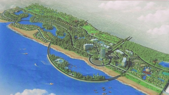 """Resort nghìn tỷ của """"bầu"""" Hiển: Bỏ đảo nhân tạo 10 ha, bổ sung ranh giới quy hoạch. (Ảnh: Internet)"""