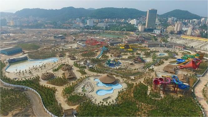 Dự án Sun Group tại Quảng Ninh, một trong những dự án tầm cỡ của tập đoàn này thường triển khai tại các địa phương. Ảnh: Báo đầu tư