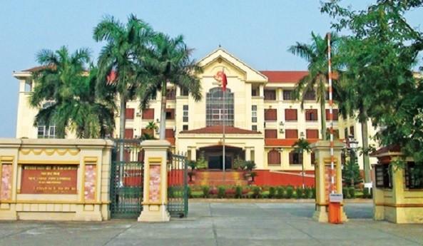 Trụ sở UBND tỉnh Bắc Ninh. (Ảnh: Internet)