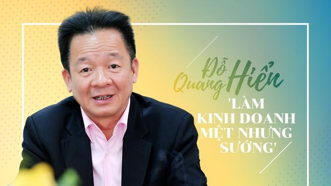 """Chủ tịch HĐQT Tập đoàn T&T Đỗ Quang Hiển (""""bầu"""" Hiển)."""