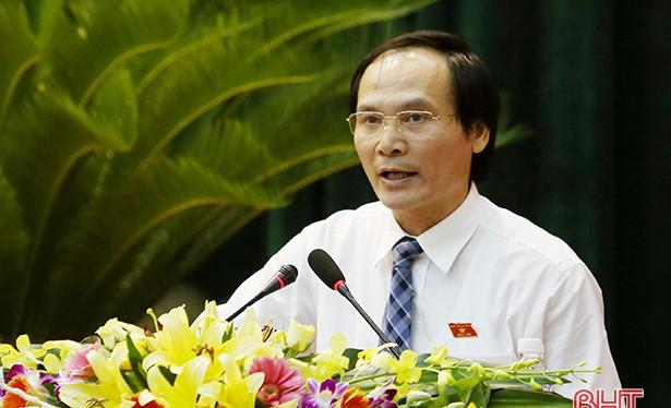 Giám đốc Sở NN&PTNT Hà Tĩnh Nguyễn Văn Việt. (Ảnh: Báo Hà Tĩnh)