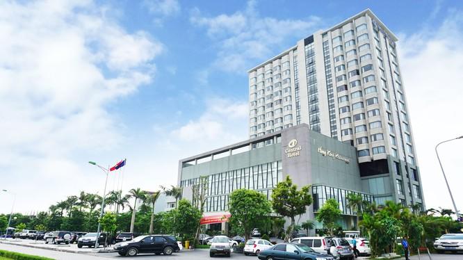 Central Hotel là khách sạn 5 sao đầu tiên tại Tp. Thanh Hóa. (Ảnh: Central Hotel)
