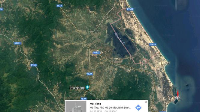 Khu vực mà FLC Biscom đề xuất đầu tư dự án quần thể du lịch nghỉ dưỡng FLC Mũi Rồng – có một dải bờ biển tuyệt đẹp, cách không xa danh thắng Mũi Vi Rồng.