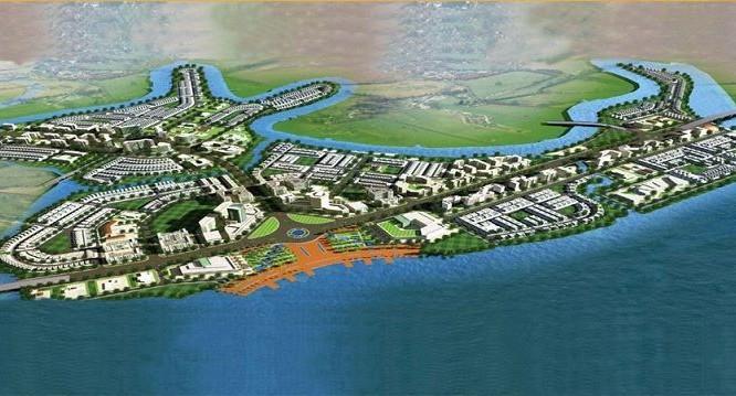 Phối cảnh dự án Aqua City. (Ảnh: Internet)
