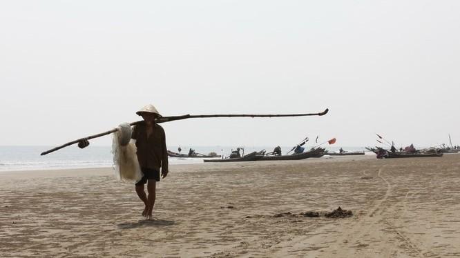 Một bãi biển đẹp ở Quảng Xương. (Ảnh mang tính chất minh họa; Nguồn: Internet)