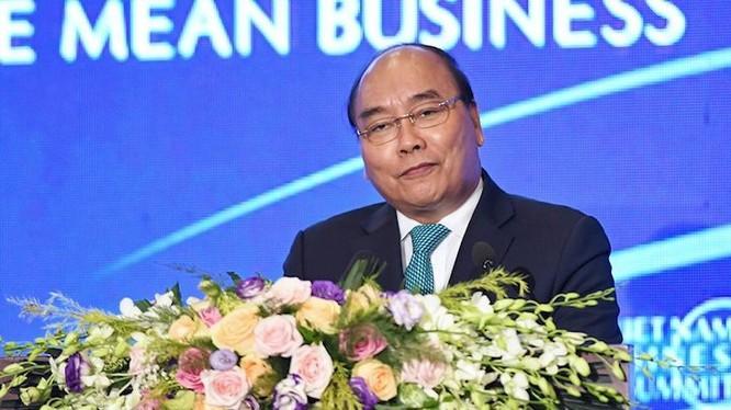 Thủ tướng Nguyễn Xuân Phúc tham dự Diễn đàn VBS 2018 ngày 13/9. Ảnh: Giang Huy