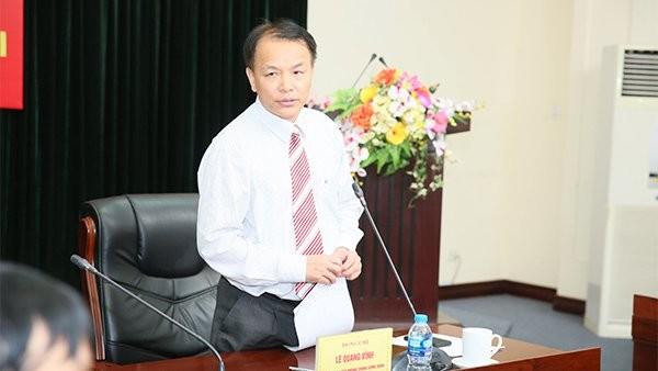 Ông Lê Quang Vĩnh, Phó chánh văn phòng TƯ Đảng.