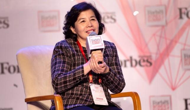 Bà Mai Kiều Liên từng rất thất vọng khi được chọn học ngành sữa. Ảnh: Forbes Vietnam.