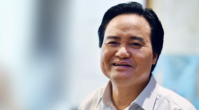 Bộ trưởng GD&ĐT Phùng Xuân Nhạ.