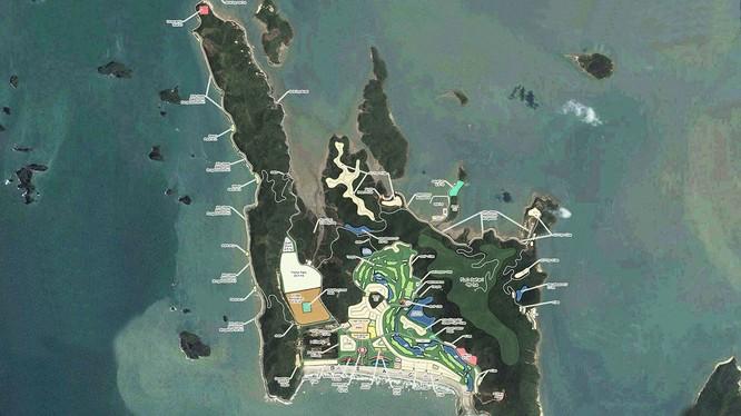 Quần thể nghĩ dưỡng sinh thái FLC Ngọc Vừng, Vân Đồn, Quảng Ninh. (Nguồn: flc.vn)