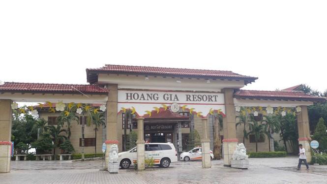 Resort Hoàng Gia Quy Nhơn. (Ảnh: Hoàng Trọng)