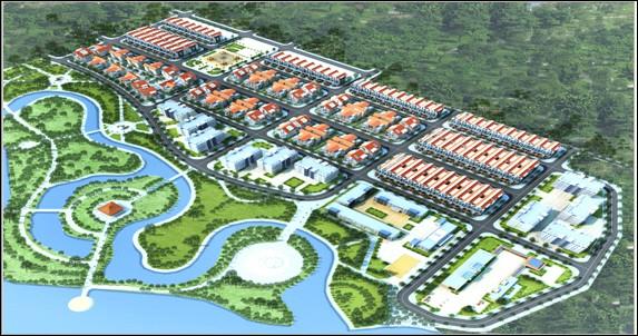 Phối cảnh tổng thể dự án The Diamond Park. (Nguồn: batdongsan)