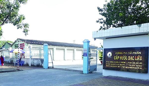 Công ty cổ phần cấp nước Bạc Liêu - Bawaco. (Ảnh: Internet)