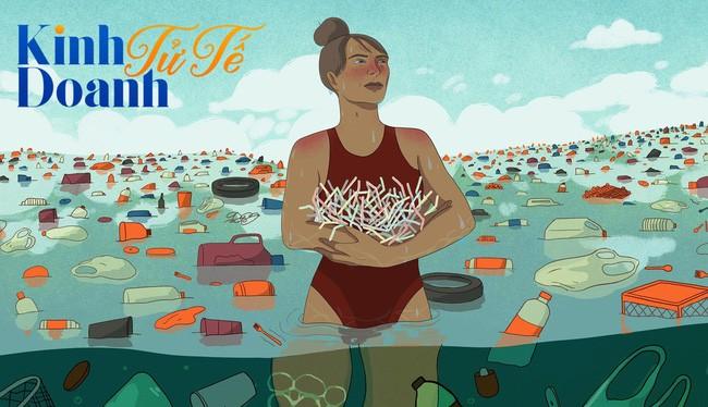 """Nỗi ám ảnh kinh hoàng từ """"thủy triều nhựa"""": Khai tử ống hút nhựa là chưa đủ."""