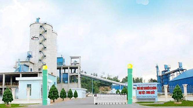 Nhà máy Xi măng Đại Việt - Dung Quất. (Ảnh: Internet)