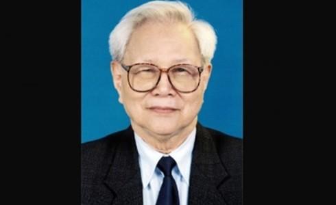 Nguyên Ủy viên Bộ Chính trị Nguyễn Đức Bình (Ảnh: Học viện Chính trị Quốc gia Hồ Chí Minh)