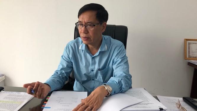 Ông Đặng Quang Tấn, Phó Cục trưởng Cục Y tế dự phòng, Bộ Y tế. Ảnh: VGP/Thúy Hà.