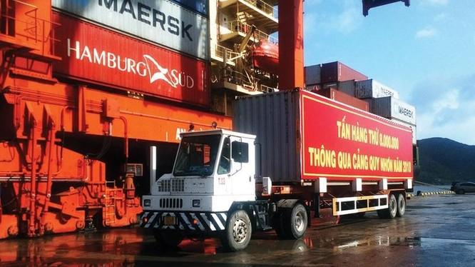 Cảng Quy Nhơn, một đơn vị của ngành GTVT bị thanh tra việc cổ phần hóa.