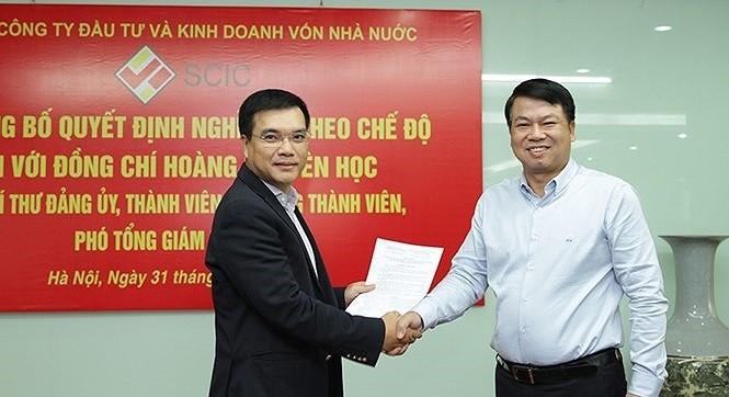 Ông Nguyễn Chí Thành (bên trái)/ Ảnh: baochinhphu.vn