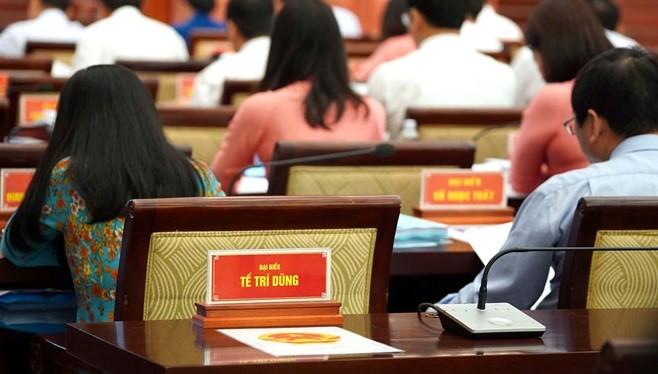 Trong những phiên họp HĐND TP.HCM gần đây, ông Tề Trí Dũng đều không tham gia. (Ảnh: TNO)
