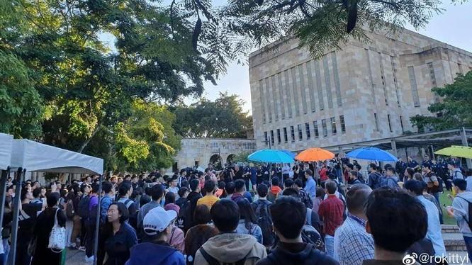 Vụ xung đột giữa các sinh viên Trung Quốc Đại Lục và Hồng Kông tại Đại học Queensland là tác nhân trực tiếp khiến chính phủ Australia điều tra các hợp đồng ký giữa 13 trường đại học với Viện Khổng Tử của Trung Quốc