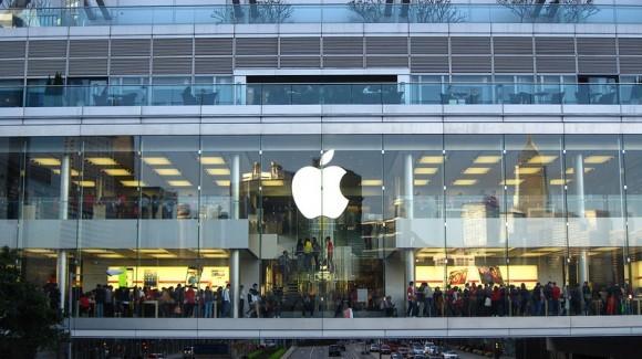 Cổ phiếu của Apple đã giảm khoảng 4,1%. (Ảnh: Internet)