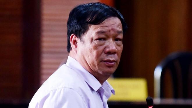 Ông Ngô Nhật Phương tại phiên xét xử vụ án VN Pharma. (Ảnh: Internet)