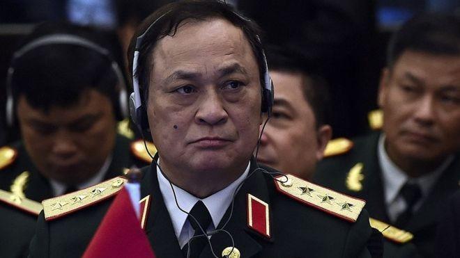 Vì sao nguyễn văn hiến bị khởi tố, Đô đốc Nguyễn Văn Hiến, nguyên Thứ trưởng Bộ Quốc phòng, Tư lệnh Quân chủng Hải quân. (Ảnh: Internet)