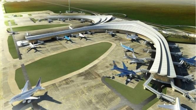 Được đề xuất xây dựng dự án sân bay Long Thành, năng lực tài chính của ACV là điều đáng bàn. (Nguồn: Internet)