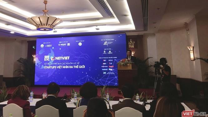 """Hội thảo """"Kết nối và phát huy các nguồn lực để Stat-up Việt nhìn ra thế giới"""" (Nguồn: Infonet)"""