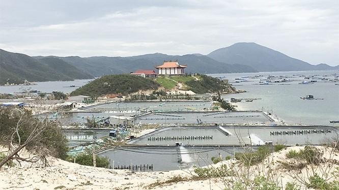 Một góc vịnh Vân Phong. (Ảnh: Báo Khánh Hòa)