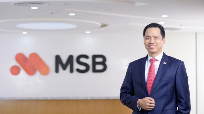 Tân Phó Chủ tịch thường trực HĐQT MSB Huỳnh Bửu Quang.