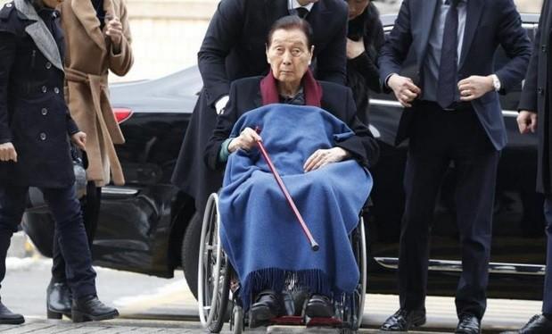 Nhà sáng lập Tập đoàn Lotte Shin Kyuk-ho. Ảnh tư liệu: EPA-EFE