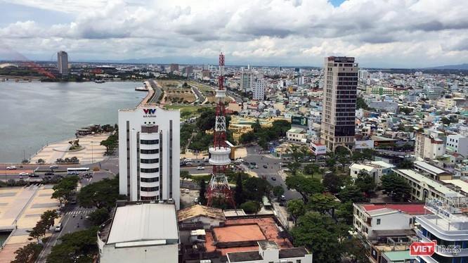 UBND quận Hải Châu nhìn từ trên cao