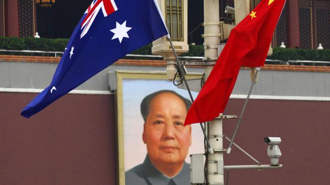 """Với việc chính phủ liên bang hủy bỏ thỏa thuận liên quan sáng kiến """"Vành đai, con đường"""" ký giữa bang Victoria với Trung Quốc, quan hệ Australia -Trung Quốc đã xấu hơn bao giờ hết (Ảnh: Đa Chiều)."""